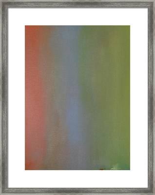 Sehnsucht One Framed Print