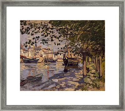 Seine At Rouen Framed Print