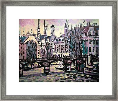 Seine Framed Print by Brian Simons