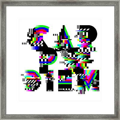 Framed Print featuring the digital art Seize The Day by Bee-Bee Deigner