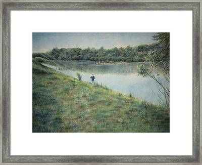 Seize The Hill Framed Print