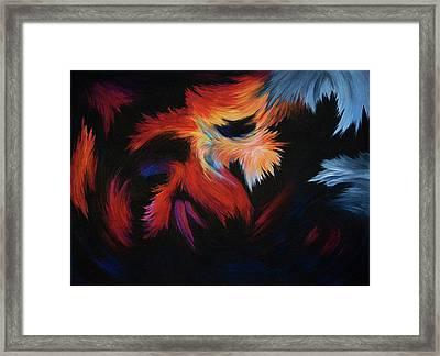 Seizure Framed Print by Rachel Christine Nowicki
