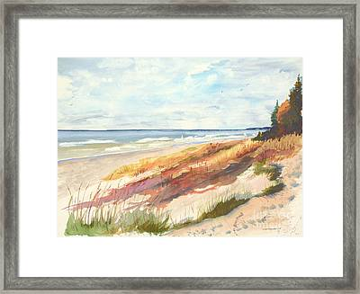 Framed Print featuring the painting Selah by Sandra Strohschein