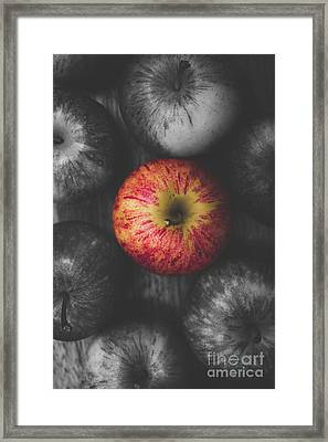 Selective Colour Still Life Fruits Framed Print by Jorgo Photography - Wall Art Gallery
