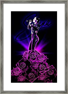 Selena Quintanilla Framed Print