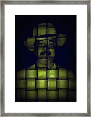 Self - Portrait Framed Print by Teodoro De La Santa