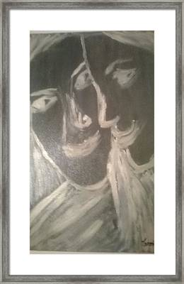 Self Acceptance Framed Print by Marinela Croitoru