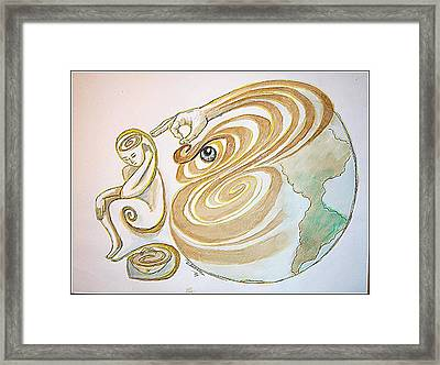 Self-awareness Framed Print by Paulo Zerbato