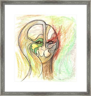 Self Creation Framed Print