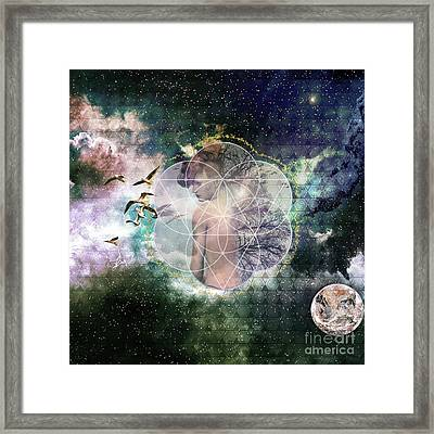 Self Discovery Metaphysical Enlightenment Framed Print
