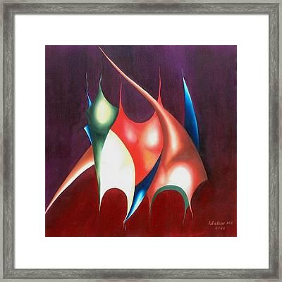 Self Evasion Framed Print by Fatma Gulnar