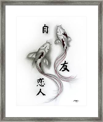 Self, Friend And Lover Framed Print