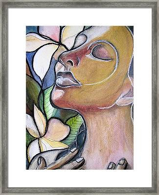 Self-healing Framed Print by Kimberly Kirk