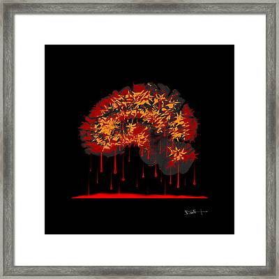Self-inflicted Framed Print by Darin Volpe