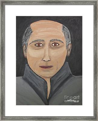 Framed Print featuring the painting Self by Jeffrey Koss