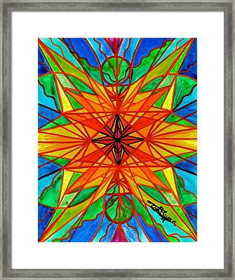 Self Liberate Framed Print by Teal Eye Print Store