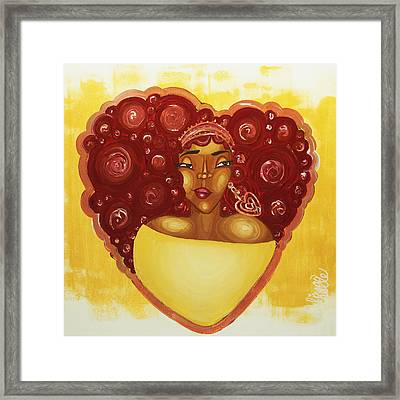 Self Love Framed Print