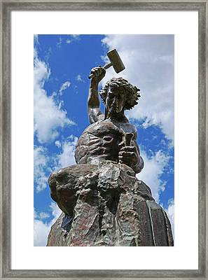 Self Made Man Lighter Version Framed Print
