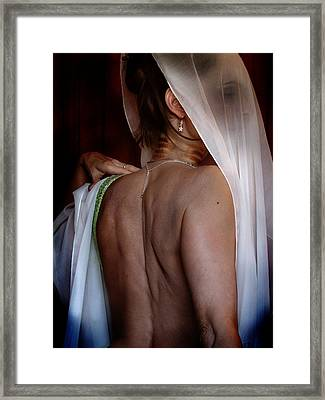 Self Portrait - The Hiding Framed Print