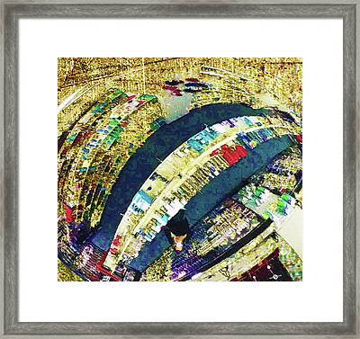 Framed Print featuring the mixed media Self Portrait 1 by Tony Rubino