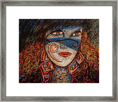 Self-portrait-2 Framed Print