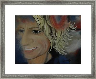 Self Portrait 2012 Framed Print