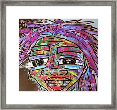 Self Portrait 2018 Framed Print