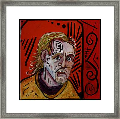 Self Portrait 4 Framed Print