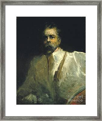 Self-portrait Framed Print by Celestial Images