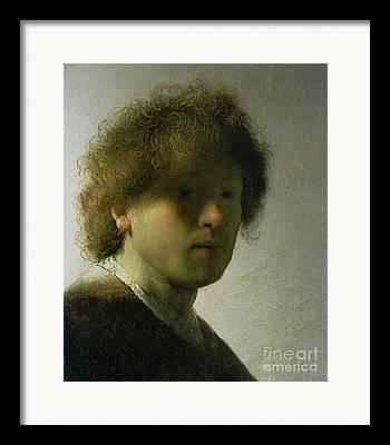 Tronie Framed Prints