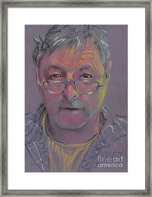 Self Portrait At 60 Framed Print