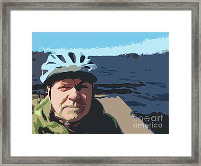 Framed Print featuring the photograph Self Portrait by Bill Thomson