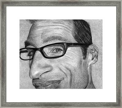 Self Portrait Framed Print by Eric Harrison