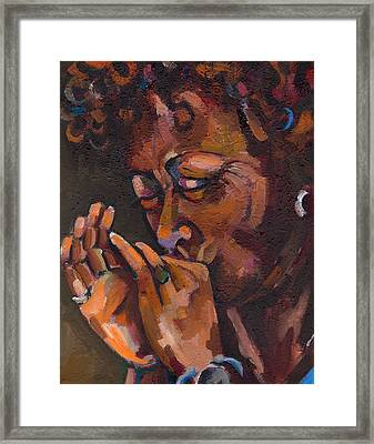 Self Portrait Framed Print by Jackie Merritt