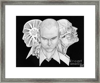 Self Portrait Framed Print by Jeff  Blevins