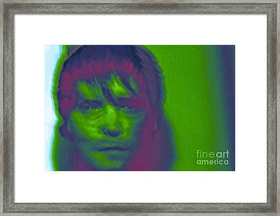 Framed Print featuring the photograph Self Portrait Number 1 by Xn Tyler