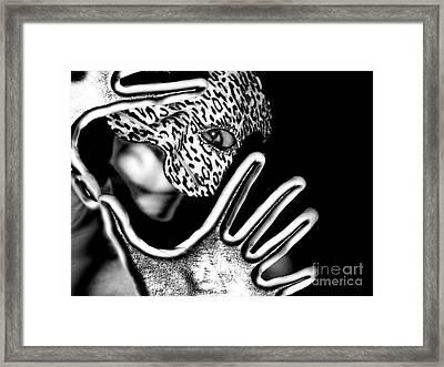 Self Portrait Of The Artist Framed Print