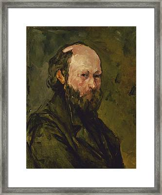 Self Portrait  Framed Print by Paul Cezanne