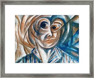 Self-portrait  Framed Print by Paulo Zerbato