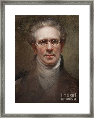 Self Portrait Framed Print by Rembrandt Peale