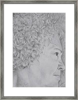 Self Portrait Framed Print by Sharon Ebert