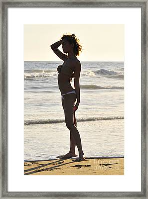 Self Reflecting Framed Print