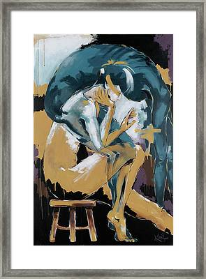 Self Reflection - Of A Dancer Framed Print