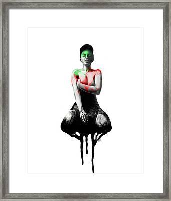 Self Xoxo Framed Print