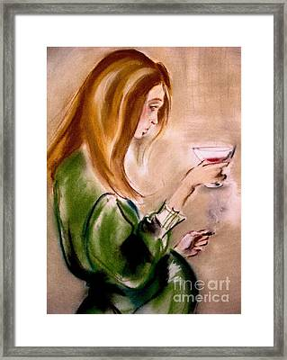 Selfish And Confused Framed Print
