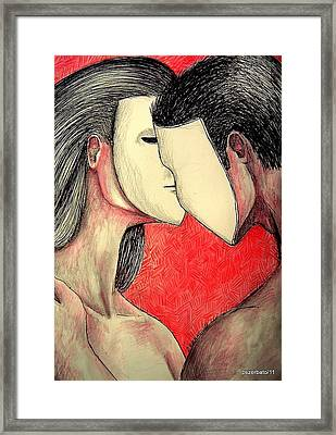Selfish Relationships Framed Print by Paulo Zerbato