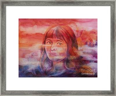 Selfportrait Framed Print