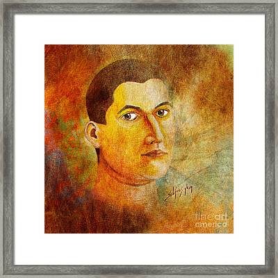 Selfportrait Oil Framed Print