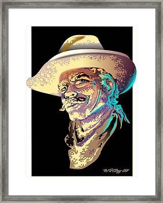 Selleck Framed Print by William R Clegg
