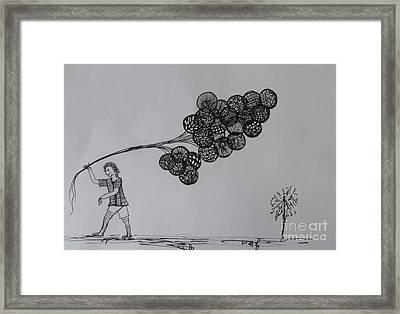 Selling Dreems Framed Print